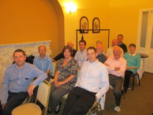 Some members of the Fermoy Toastmasters Club pictured at our meeting on Sept 26th 2014