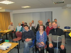 Some of the attendance at the Fermoy education centre meeting on Feb 10th 2015