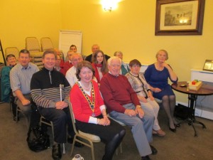 Club members in a relaxed and genial form after another memorable and successful meeting