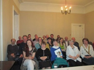 At Fermoy Toastmasters - always a convivial atmosphere.
