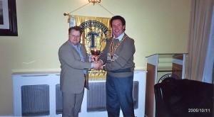 Toastmasters Topics Winner 11-Oct-2005 - 2