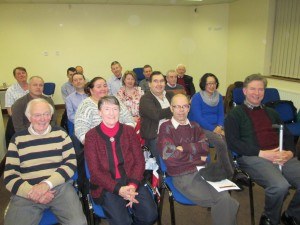 Another view of the happy gathering in the Fermoy Youth Centre of March 8th 2016