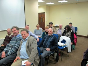 Members and visitors from Mallow and Charleville Clubs enjoy the Annual Fermoy Toastmasters speech & Evaluations Contest March 22nd 2016