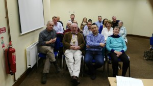 Club President John Sherlock relaxeswith fellow club members after our very successful meeting on April 19th 2016