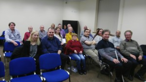 Another view of the notable gathering of members and guests at the Club Meeting of November 8th 2016